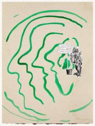 Marijn van Kreij, Untitled (Sigmar Polke, Ad Reinhardt, Physiognomical Changes, The Insiders)