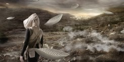 Larissa Sansour, In the Future, They Ate From the Finest Porcelain 2