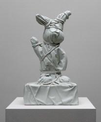 Daniel Arsham, Wrapped Bunny #2 White