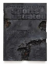 Daniel Arsham, Steel Eroded Sports Illustrated Magazine