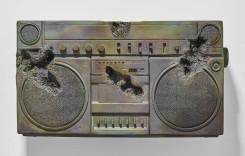 Daniel Arsham, Bronze Boombox