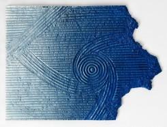 Daniel Arsham, Daisen-in - Blue Sand Painting Horizontal