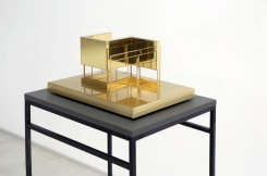 Caroline Van den Eynden, Arch.Alfabet P (concept for an open/closed space area, indoor)