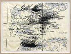 Cristina Lucas, Cartography of Aerial Bombing over Civilians in Spain till 1939