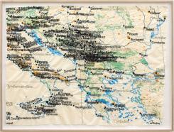 Cristina Lucas, Cartography of Aerial Bombing over Civilians in Italy till 2003