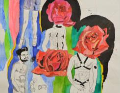 Charlotte Schleiffert, Kinky men with Flowerheads