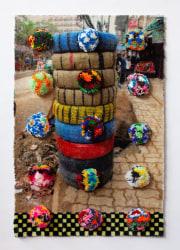 Bertjan Pot, Pompons on Carpet