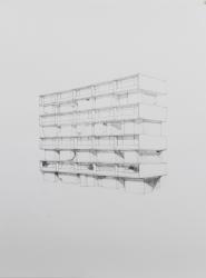Frank Halmans, Flat met kelders / Apartment building with cellars