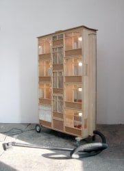 Frank Halmans, Stofzuigerflat / Hoover apartment building