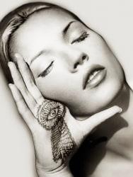 Albert Watson, Kate Moss, Sun & Henna, Marrakech