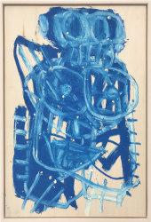 Anne-Lise Coste, Blue Nude Women (monkey)