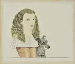 Pat Andrea, Femme et chien 1