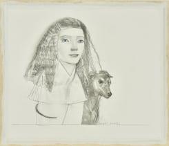 Pat Andrea, Femme et chien 2