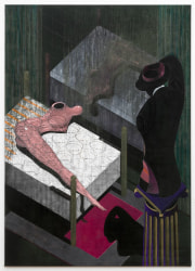 Raymond Barion, Figure on a bed with torso