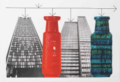 Stephen Willats, Buildings and Vases No.5