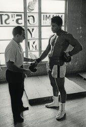 Marvin E. Newman, Cassius Clay (Muhammad Ali) with Trainer Angelo Dundee