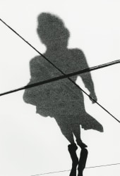 Marvin E. Newman, Windy Woman, Shadow Series, Chicago