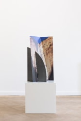 Letha Wilson, Zion Canyon Palms Slice Steel