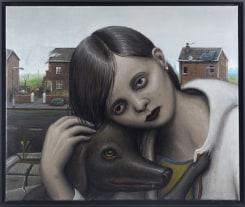 Michael Kirkham, Girl with Dog