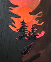 Kim Dorland, Wolf Moon