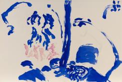 Hans van Hoek, Waterfall Bathers Tree-rock