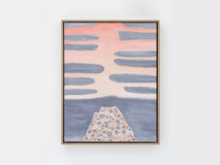 William Monk, Untitled I (Pink Rise)