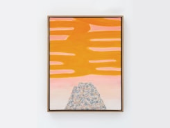 William Monk, Untitled II (Yellow Rise)