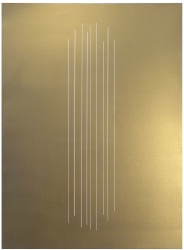 Shawn Stipling, Zonder titel (Bronze painting)