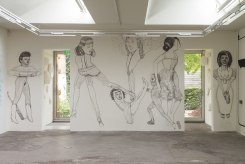 Pat Andrea, Wandschildering