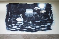 Joncquil, Wandschildering