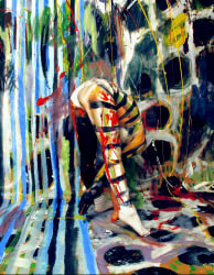 Isabelle Wenzel, Painting 4.5