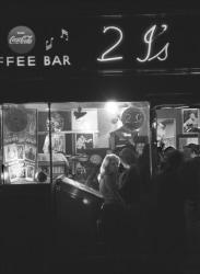 John 'Hoppy' Hopkins, The 2i's Coffee Bar, Old Compton Street, London