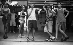 Henry Horenstein, Bleachers, Havana, Cuba