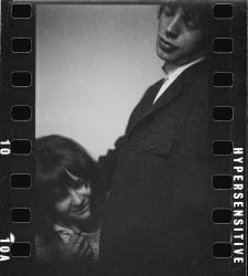 Eric Swayne, Mick Jagger & Chrissie Shrimpton