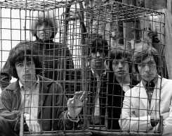 Gered Mankowitz, The Rolling Stones Caged, Ormond Yard, London