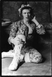 Michael Putland, David Bowie, at his home Haddon Hall, Kent, UK
