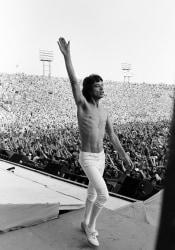 Michael Putland, Mick Jagger on Stage, Philadelphia, US Tour, USA