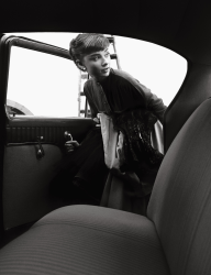 Bob Willoughby, Audrey Hepburn, Paramount Studios, Hollywood, 1953