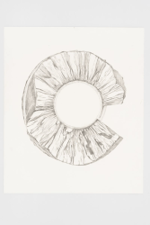 Simon Benson, Your Wide White Arms Opening (Again), 2019, pencil