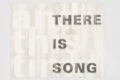 Simon Benson, And This Time There Is Song, 2019, pencil / paper.