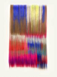 Hiva Alizadeh, Untitled #18 - Nomad chants series 105x60x3