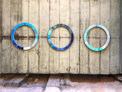 Esther Kokmeijer, Cyanometer to Measure the Blueness of the Sea