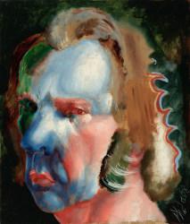 Philip Akkerman, Self-portrait 2008 no.144