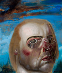 Philip Akkerman, Self-portrait 2013 no.140