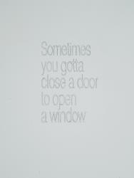 Lucas Lenglet, Sometimes you gotta close a door to open a window