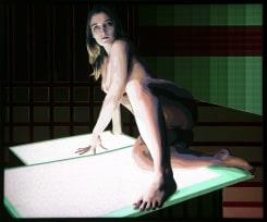 Tom Woestenborghs, Nude on Lightbox