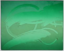 Lieven Hendriks, Untitled #11 (Fingerdrawing - Dust series)