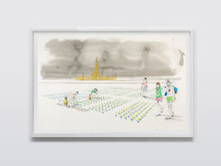 Charles Avery, Untitled (Gatherers and Water carriers tending...)