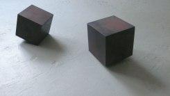 Joachim Bandau, Joachim Bandau, 2 KIP-Sculpturen 1997