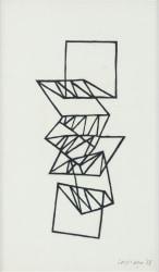 Carel Visser, zonder titel (uitwaaierende vorm)